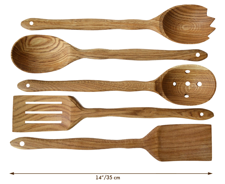 Buy Handmade Utensil Set. Wooden Cute Kitchen Utensils Set 14\