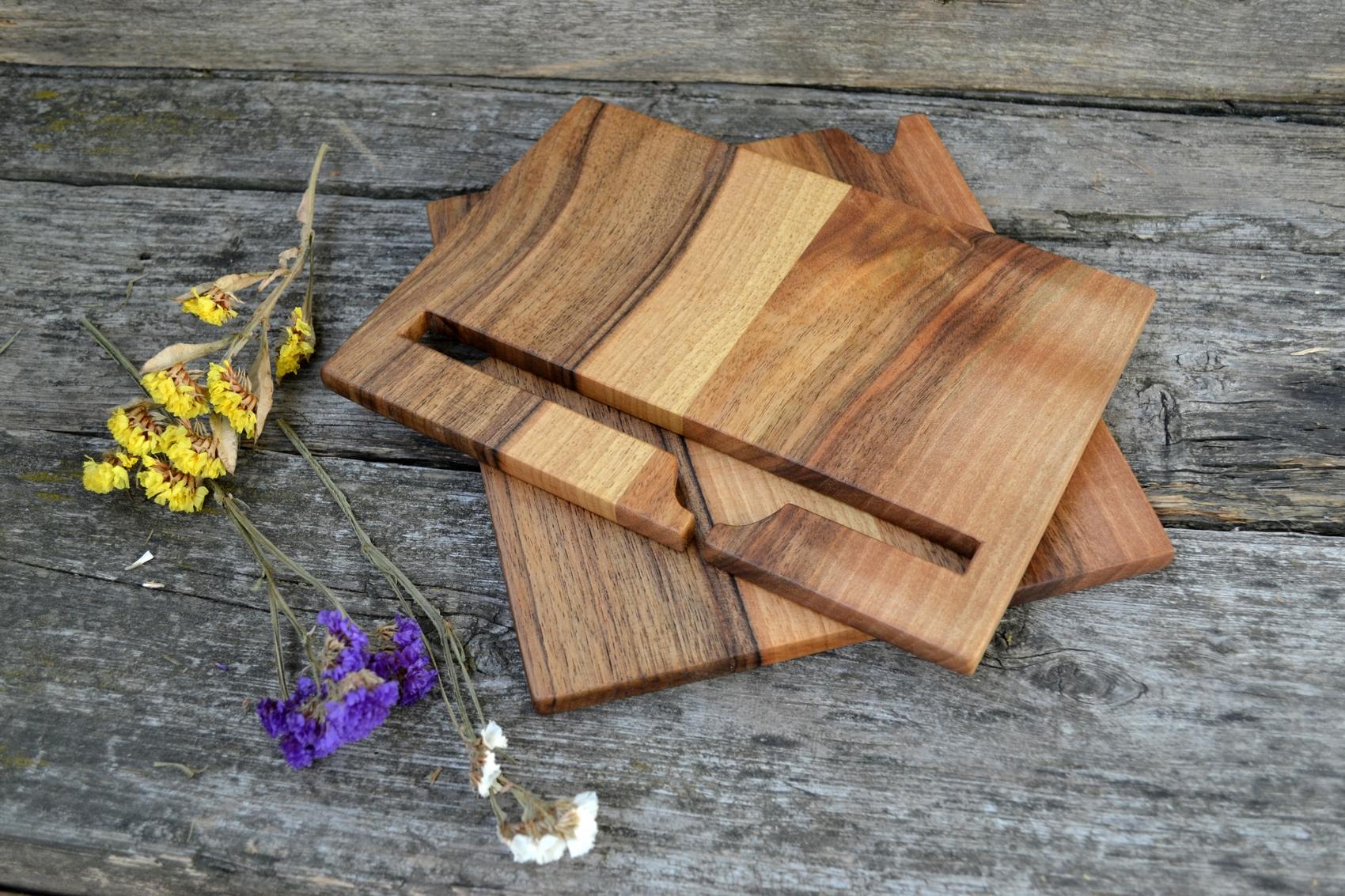 Buy Wood Phone Docking Station, Walnut Desk Organizer