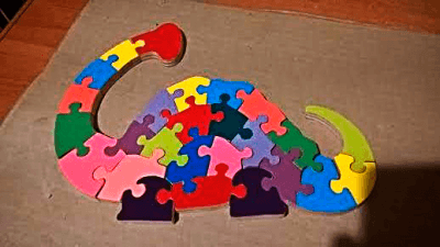 Building wooden educational toys